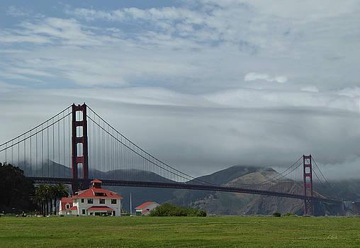 Golden Gate Bridge by Gordon Beck