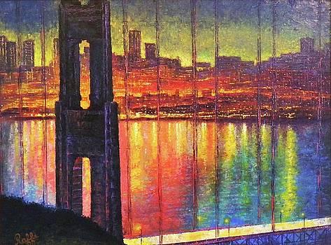Golden Gate Bridge by Raffi Jacobian