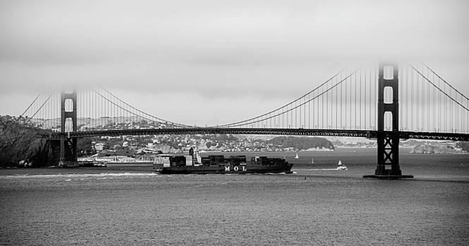 Golden Gate Bridge, San Francisco, California, August, 2016  by Wayne Higgs