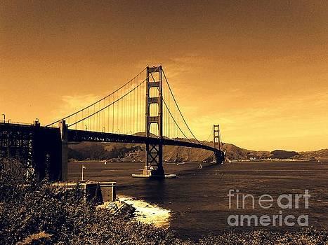Golden Gate Bridge San Francisco California The Perfect View by Michael Hoard