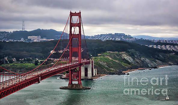 Chuck Kuhn - Golden Gate Bridge San Francisco II