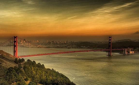Chuck Kuhn - Golden Gate Bridge SF II