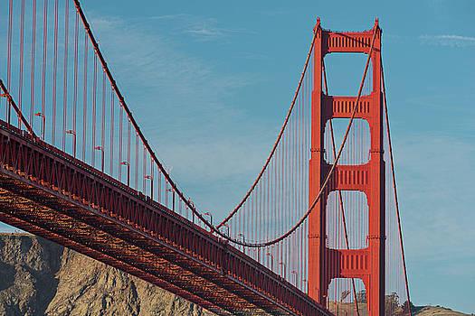 Golden Gate Bridge Sunset by Steve Gadomski