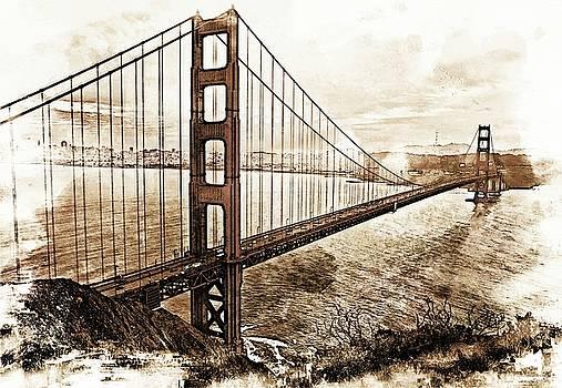 Golden Gate Bridge by Suzanne Stout