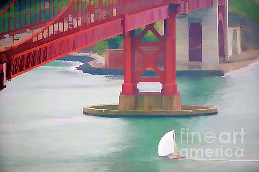 Chuck Kuhn - Golden Gate Paint I
