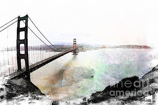 Golden Gate Perspective  by Leslie Hunziker