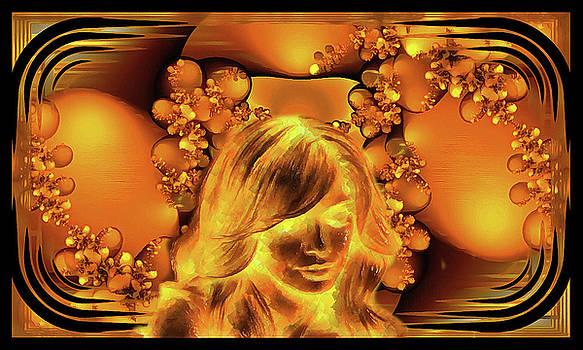 Golden Girl by Mario Carini