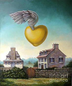 Golden Heart by Filip Mihail