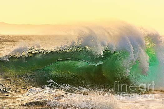 Golden Hour Waves by Eddie Yerkish