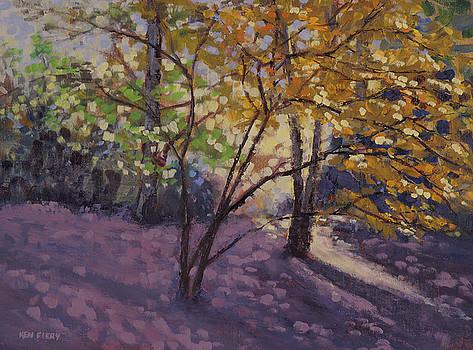 Golden Leaves by Ken Fiery