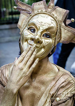 Golden Mime - Nola by Kathleen K Parker