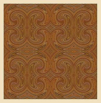 Golden Pattern by Mohammad Safavi naini