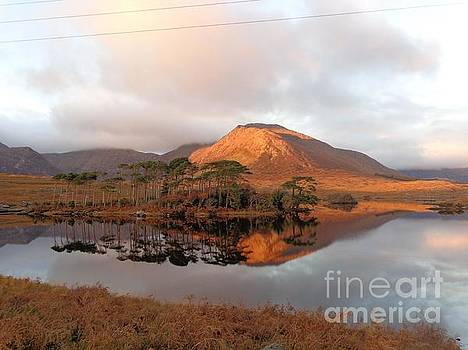 Golden sunset Connemara  by Maureen Dowd