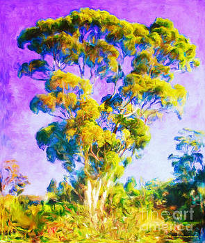 Golden Tree Of Life by Jerome Stumphauzer