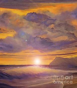 Golden Wave by Holly Martinson