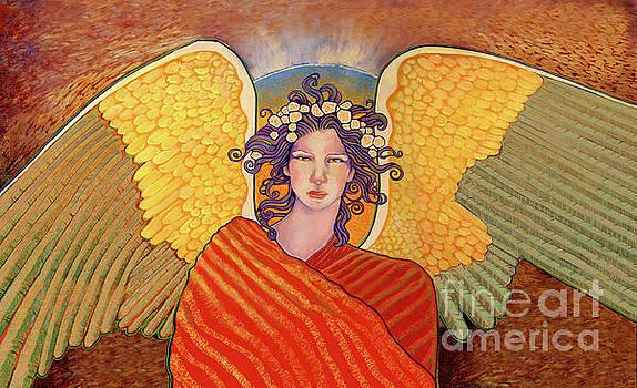 Golden Wings Angel by Dia T