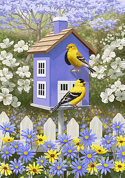 Goldfinch Garden Home by Crista Forest