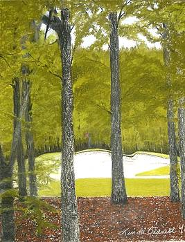 Golf  by Linda Bennett