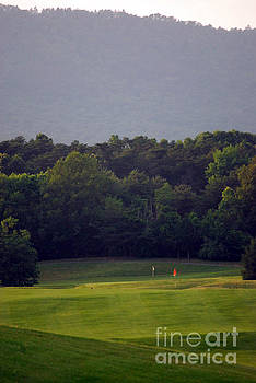 Golfing in the Mountains by Rebecca Armermann
