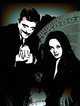Gomez and Morticia Addams by Joy McKenzie