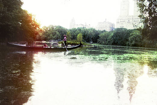 Gondola in Central Park by Rora
