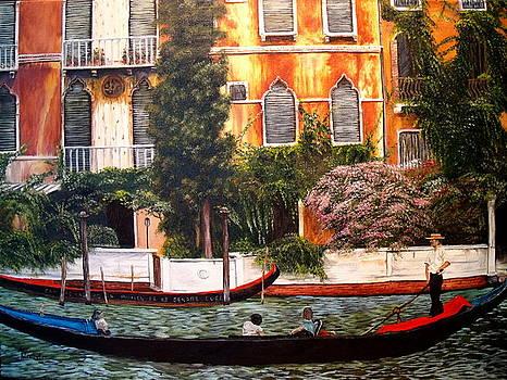 Gondola Ride by Ann Kleinpeter