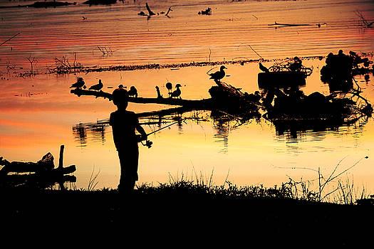 Gone Fishin' by Lorri Crossno