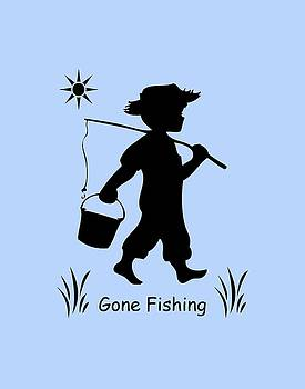 Gone Fishing by Marilyn Peterson