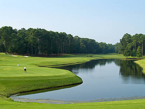 Good Golf Day by Andrew Kazmierski