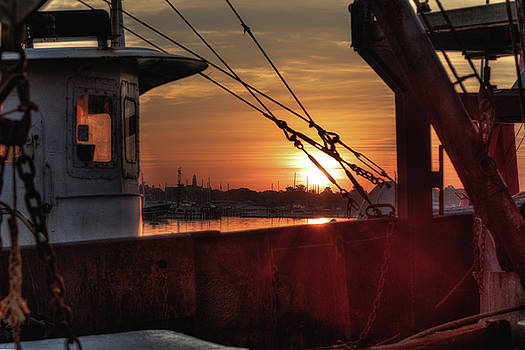 Good Morning, New Bedford by John Hoey