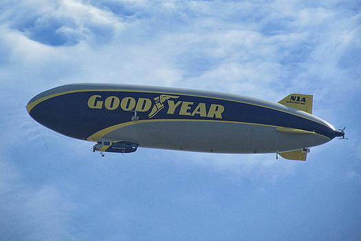 Goodyear Blimp by Victor Montgomery
