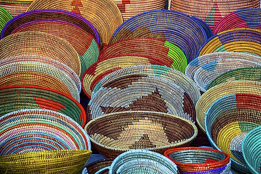 Goombay Festival Baskets by John Haldane