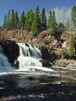 Goosberry Falls by Rex E Ater