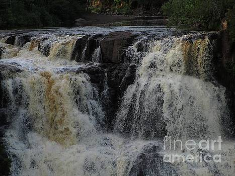 Gooseberry Falls 3 by Barbara Yearty