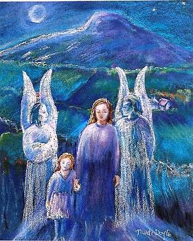 Gossiping Guardian Angels  by Trudi Doyle