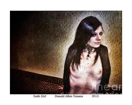 Goth Girl by Donald Yenson