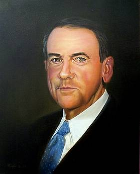 Governor Mike Huckabee by RB McGrath