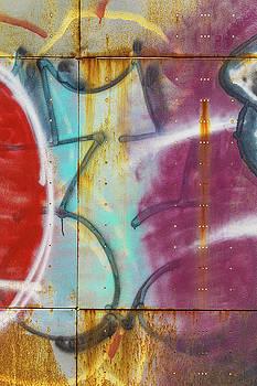 Graffiti Abstract No. 3 by Steven Bateson