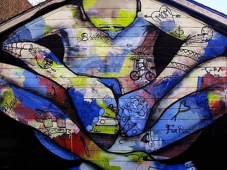 Graffiti Art.  Peace by Cat Jackson
