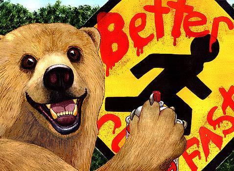 Graffiti Bear by Catherine G McElroy