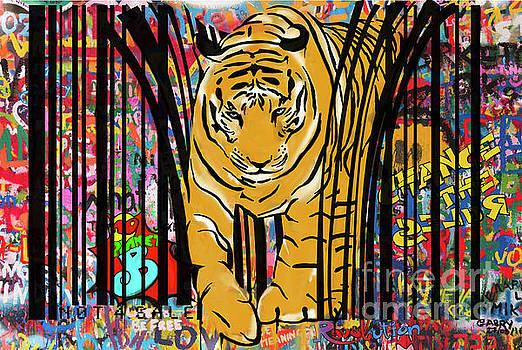 Sassan Filsoof - Graffiti tiger