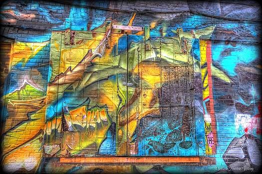 Grafiti Window by Michaela Preston
