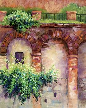 Granada Arches by Candy Mayer