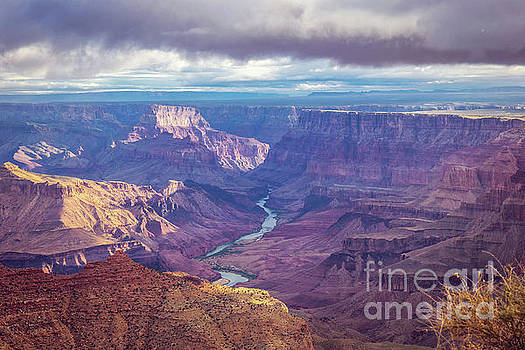 Grand Canyon and Colorado River by Joan McCool