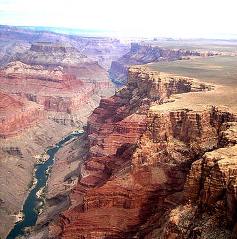 Grand Canyon and the Colorado River 2 by Maria Mills