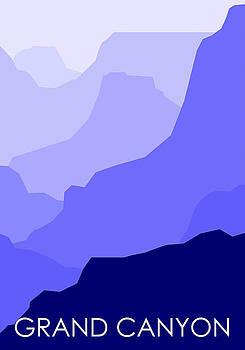 Grand Canyon Blue - Text by Asbjorn Lonvig