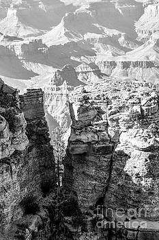 Grand Canyon BW impression by Juergen Klust