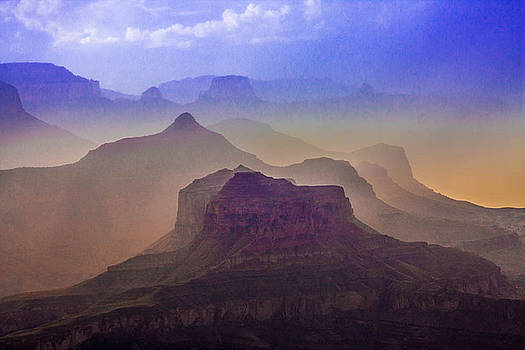 Grand Canyon Color by Kathleen McGinley