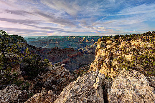 Grand Canyon National Park Spring Sunset by Wayne Moran