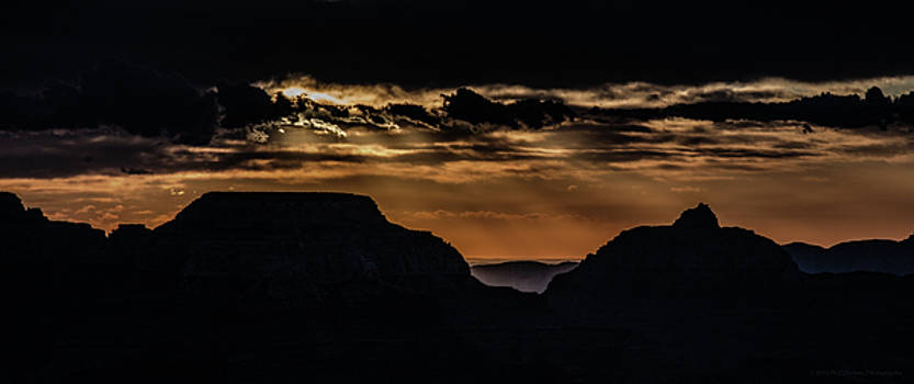 Grand Canyon Sunset by Phil Abrams